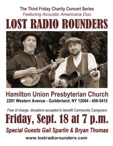 Hamilton Union September Poster